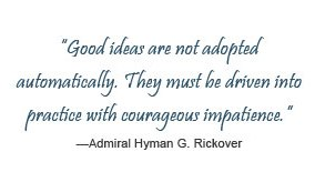 Quote from Admiral Rickover