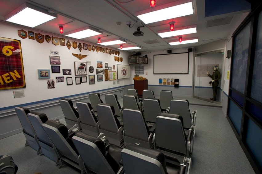 U.S. Navy Museum | Cold War Gallery | Ready Room Theater